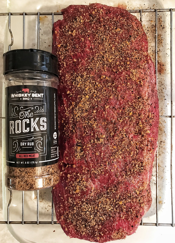 Clear Creek Beef, flat iron steak, whiskey bent bbq rub, bbq rub, dry rub, steak prep tips, beef for dinner